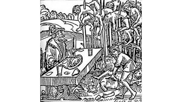 Penyiksaan dari Vlad the Impaler