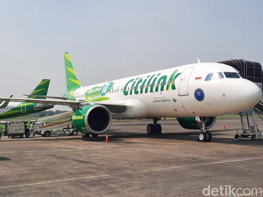 Pesawat Citilink Lama Diparkir tapi Perawatan Tidak Mangkir