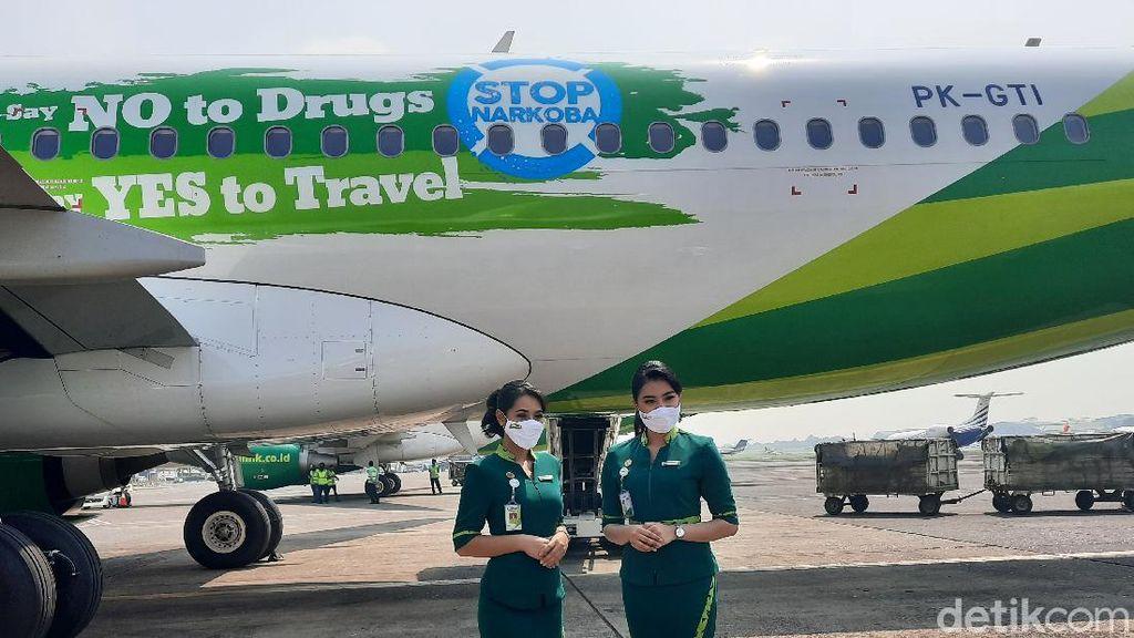 Potret Airbus Anti Narkotika Citilink