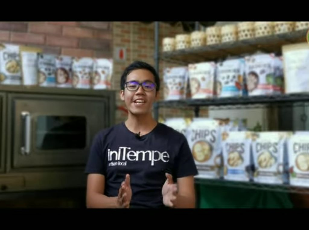 Pria 24 Tahun Ini Sukses Bisnis Tempe Kekinian di Bali