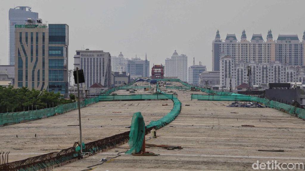Begini Progres Proyek Tol Dalam Kota Ruas Kelapa Gading-Pulo Gebang