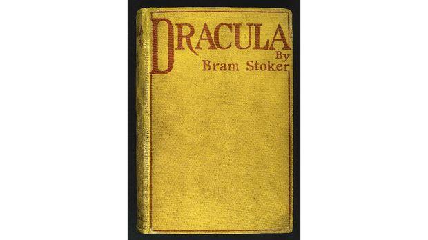 Sampul novel Dracula
