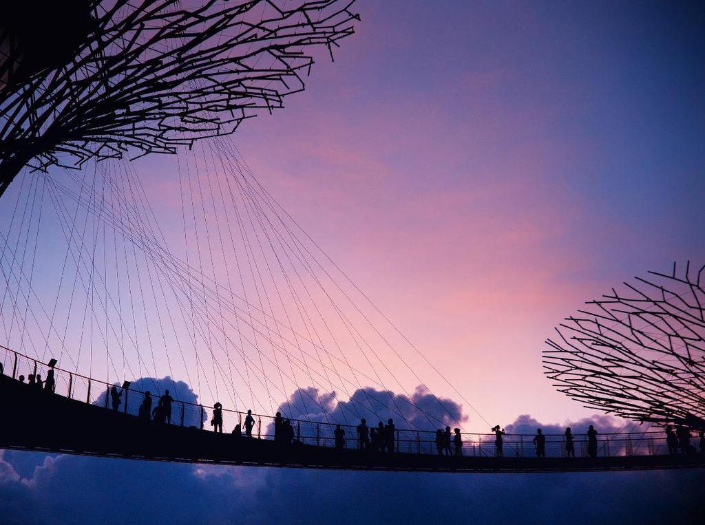 Masih Ingat Momen Sore Kamu Saat Berkunjung ke Singapura?
