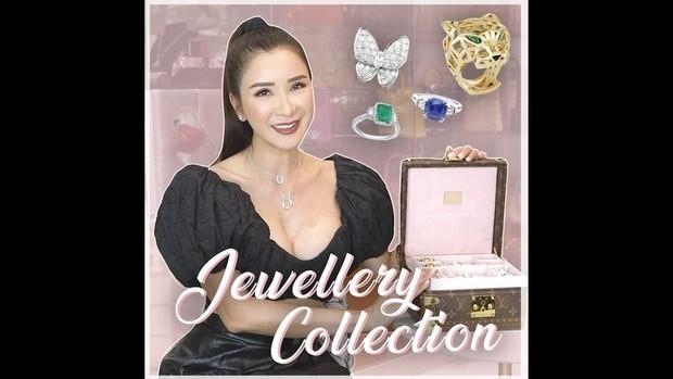 Kejadian hilangnya perhiasan milik Jamie Chua diungkap lewat vlog pribadinya.