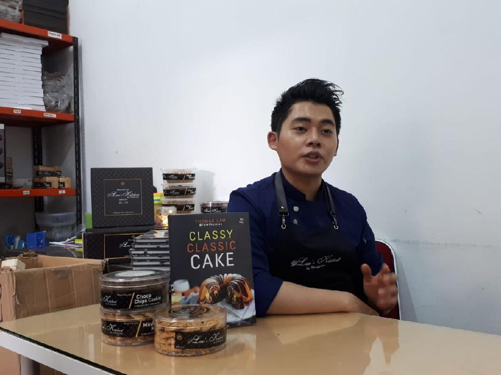 Bikin Marmer Cake Bersama Chef Thomaz Law
