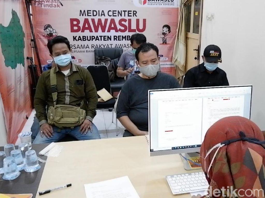 Diduga Kampanye di PAUD, Paslon Pilbup Rembang Ini Dilaporkan ke Bawaslu