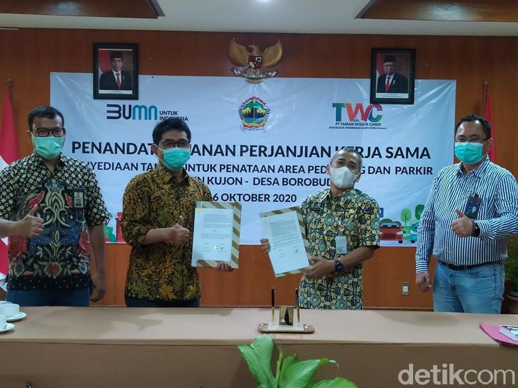 Bangun Kampung Seni Kujon di Borobudur, Dianggarkan Dana Rp 90 M