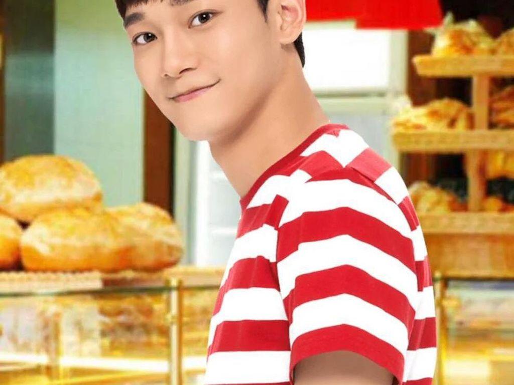 Potret Member EXO Lepas Chen Wajib Militer