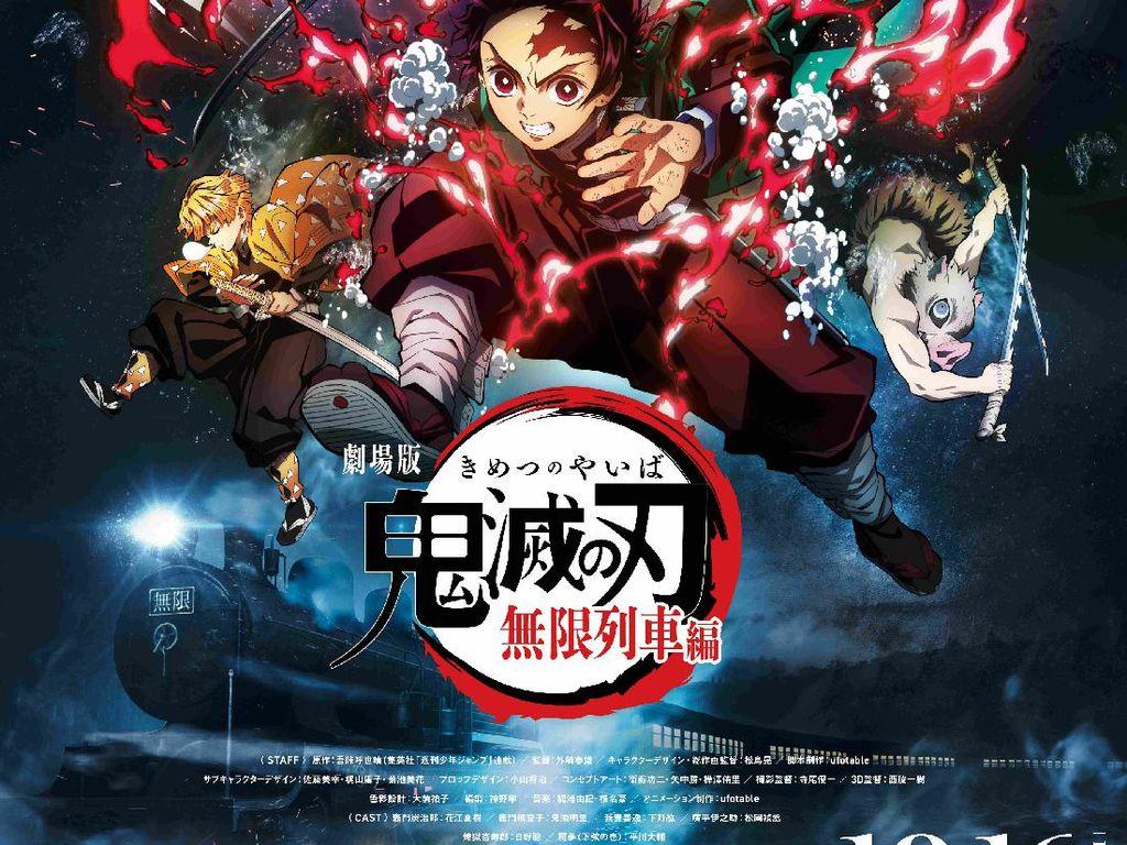 Rekor! Manga Terakhir Demon Slayer Terjual 2,8 Juta Eksemplar dalam Seminggu
