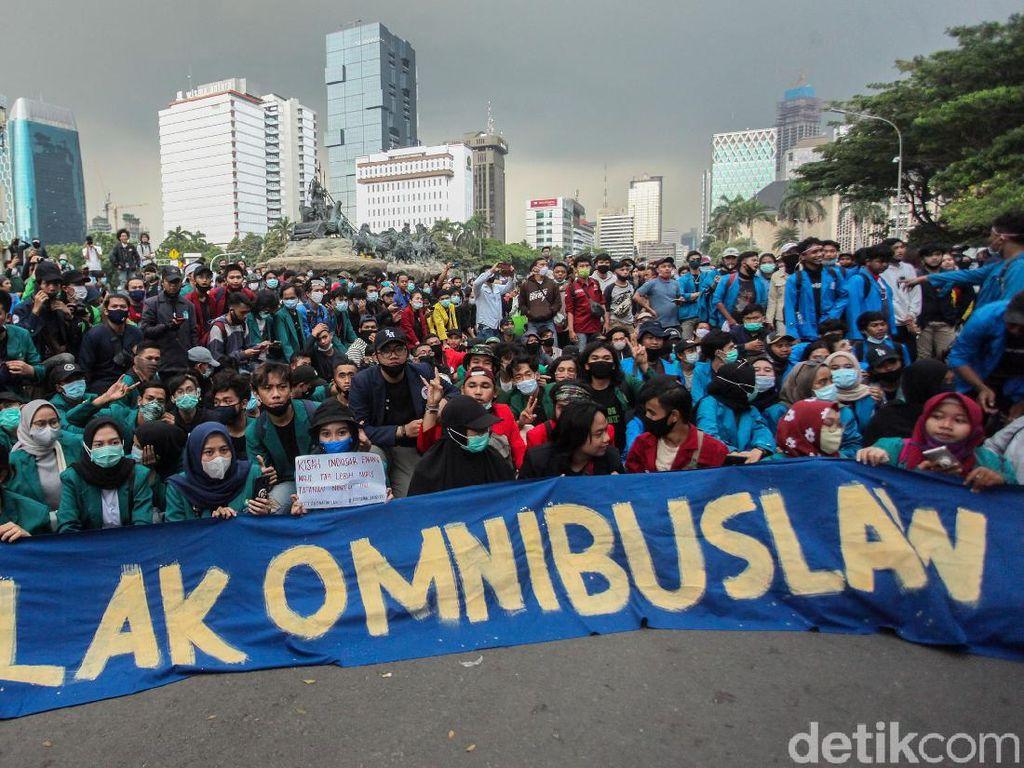 Massa Kembali Demo di Depan Istana Besok, 6.000 Personel Disiagakan