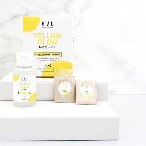 Rekomendasi clay mask dari produk lokal Evete Naturals.