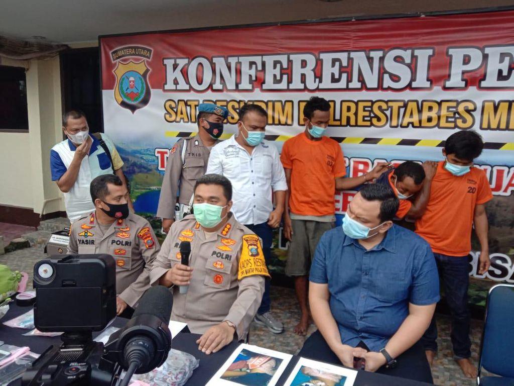 Pemerkosa-Pembunuh Ponakan di Sumut Residivis Kasus Penganiayaan-Curanmor