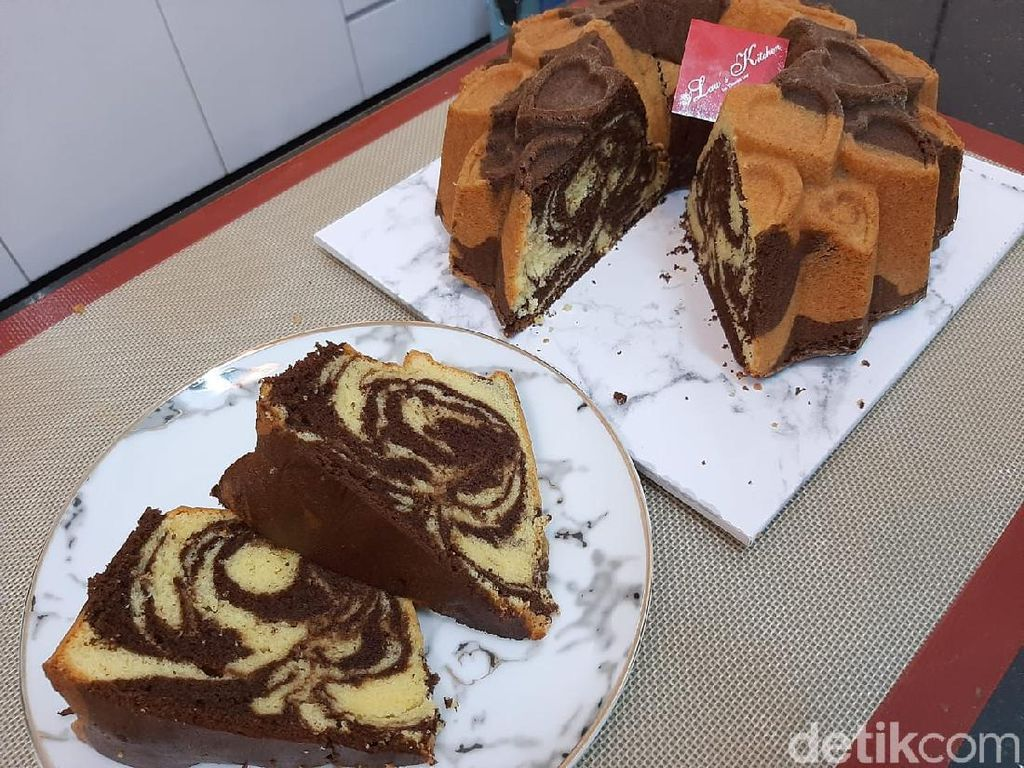 Resep Marmer Cake Super Lembut ala Thomaz Law