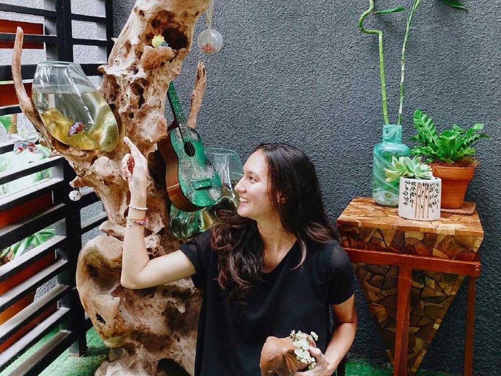 Cerita Nadine Chandrawinata Ketagihan Ikan Cupang, Pernah Punya 200 Ekor