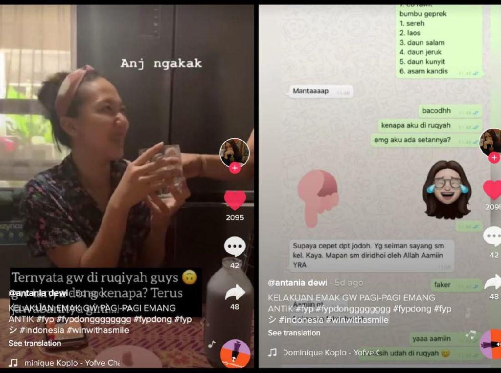Ngakak! Netizen Ini Diruqyah Air Putih oleh Ibunya Supaya Dapat Jodoh