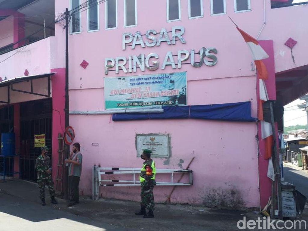 Tracing Corona Selesai, Pasar Pringapus Semarang Kembali Buka Hari Ini