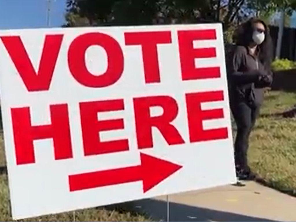 Pilpres AS, Carolina Utara Lakukan Pemungutan Suara Lebih Cepat