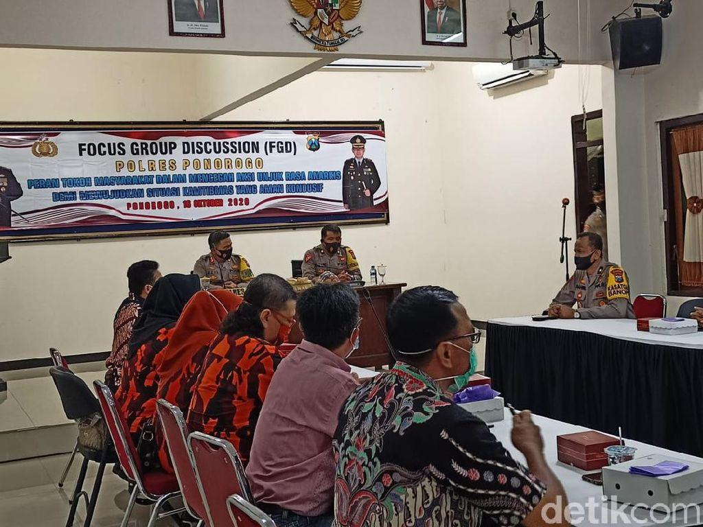 Tokoh Masyarakat Diingatkan Jaga Kamtibmas Masa Kampanye Pilbup Ponorogo