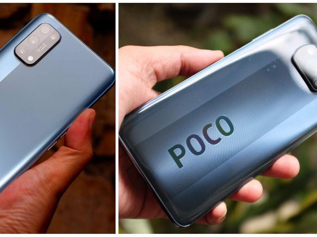 Komparasi Spesifikasi Poco X3 NFC dan Realme 7 Pro