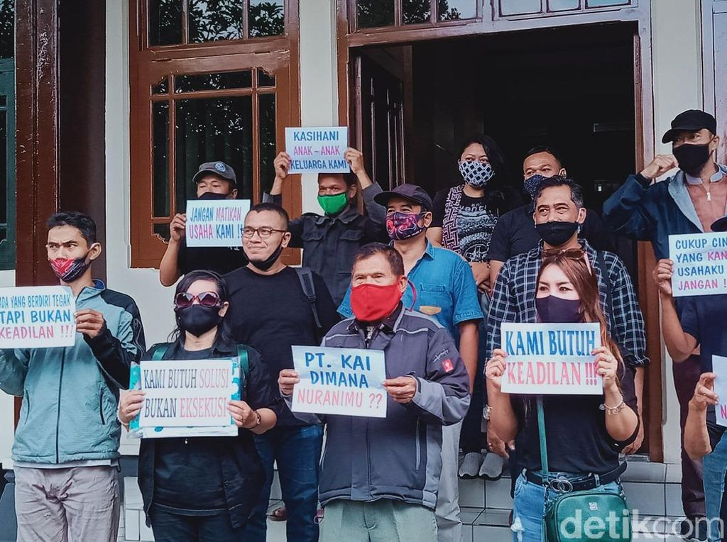 Pedagang di Stasiun Klaten Datangi DPRD Curhat Soal Pengosongan Lahan