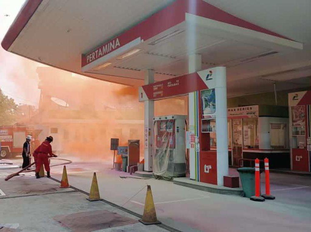 Antisipasi Kondisi Darurat, Pertamina Gelar Latihan Simulasi Kebakaran