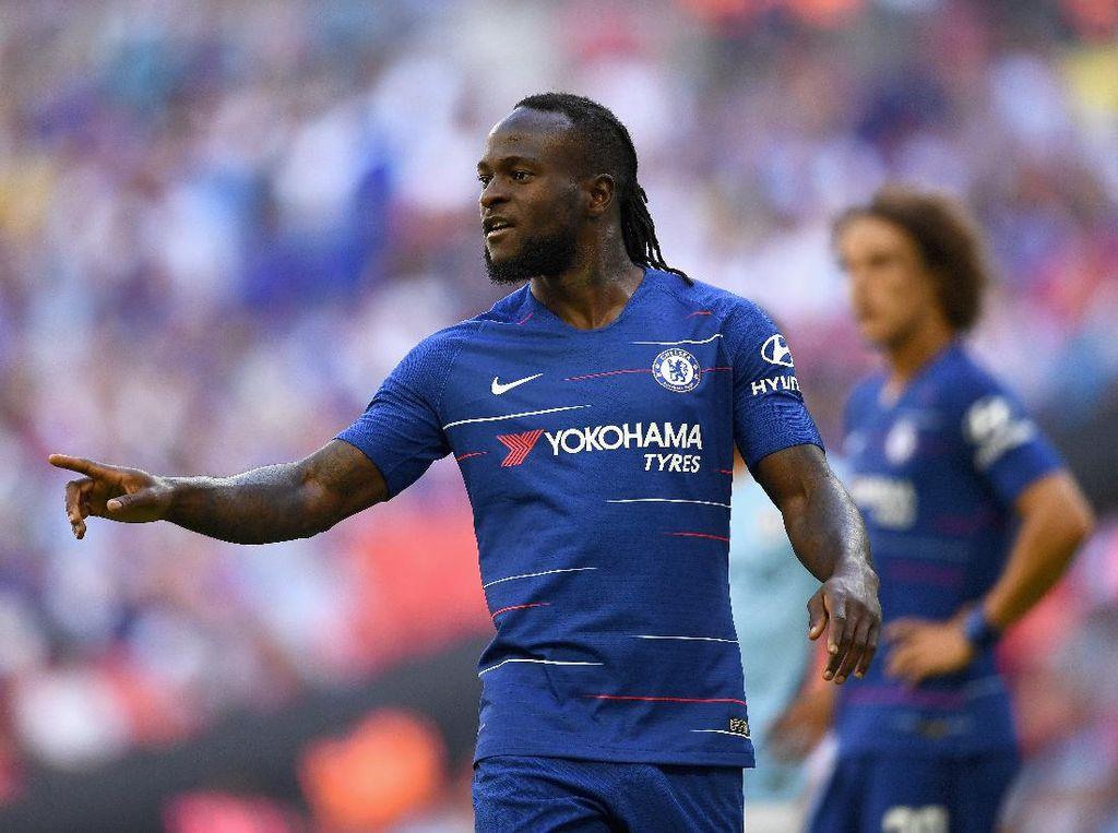 Chelsea Pinjamkan Victor Moses untuk ke-6 Kalinya