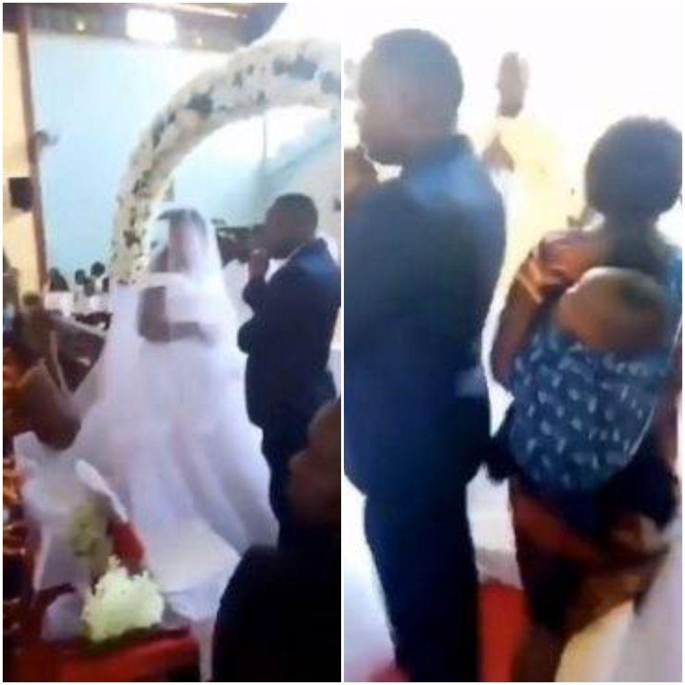 Perniakahan suami dengan pelakor digagalkan istri sah