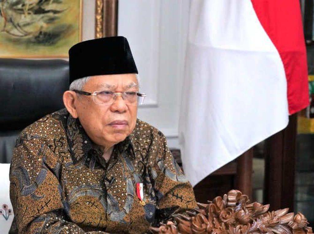 Simak! Maruf Amin Ungkap Fakta Terkini Merger Bank Syariah BUMN