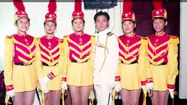 Foto masa lalu Andy Lau