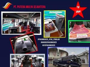 Bus Mewah Trans Jawa Rute Malang-Jakarta, Penumpang Duduk Sendiri-sendiri