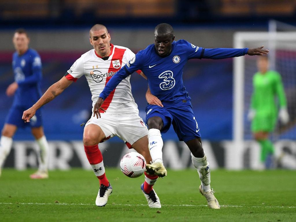 Sengit! Chelsea Vs Southampton Tuntas 3-3