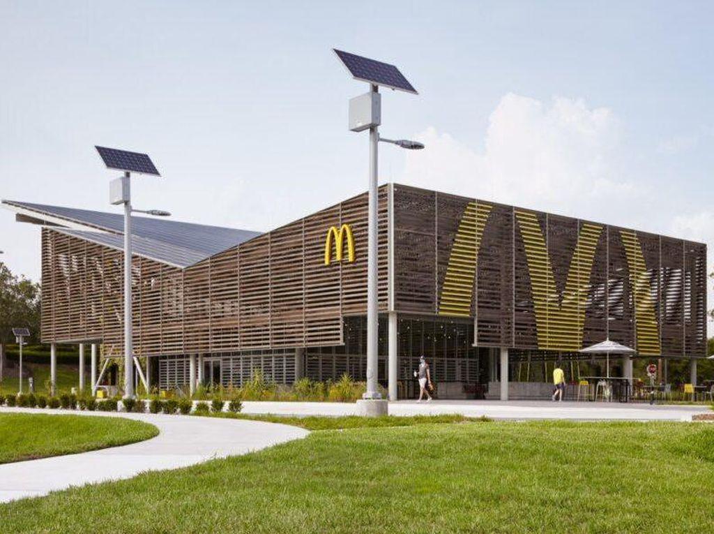 Amazing! Gerai McDonalds Ini Ramah Energi