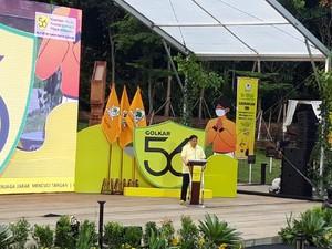 Peringati HUT Ke-56, Partai Golkar Bagikan 4 Juta Masker di 270 Daerah Pilkada