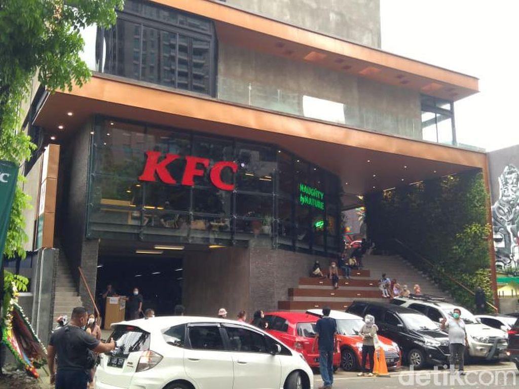 KFC Senopati Disanksi Tutup (Lagi), Denda Menanti