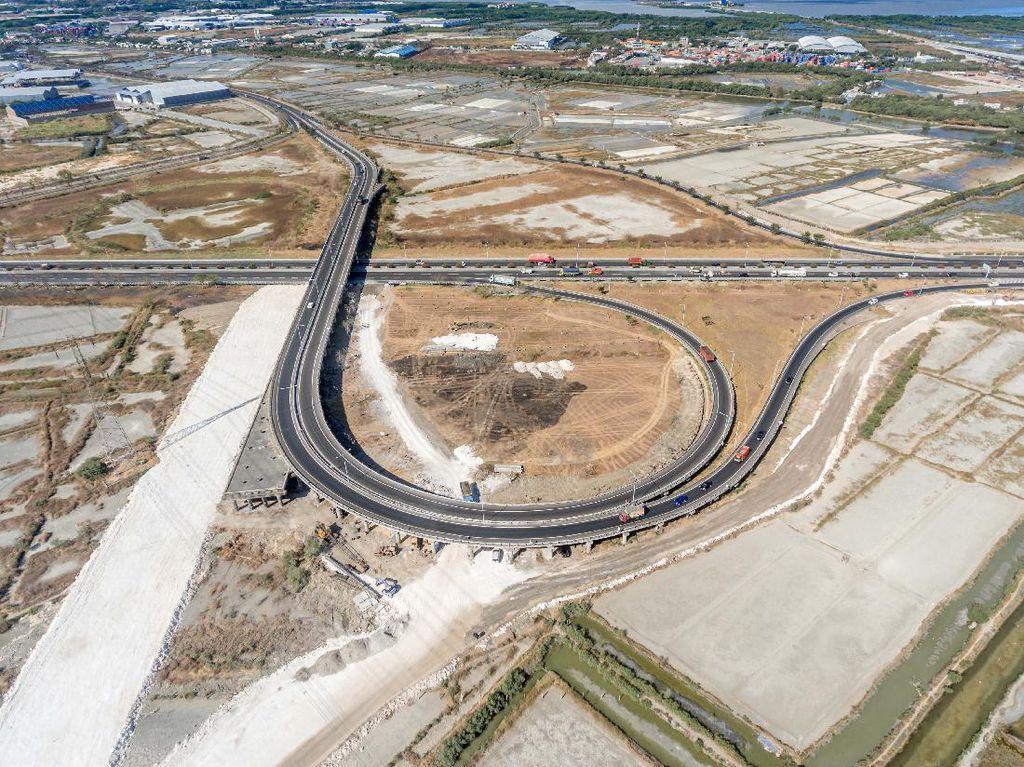 Mengintip Proyek Modifikasi Simpang Susun Tol Surabaya-Gresik