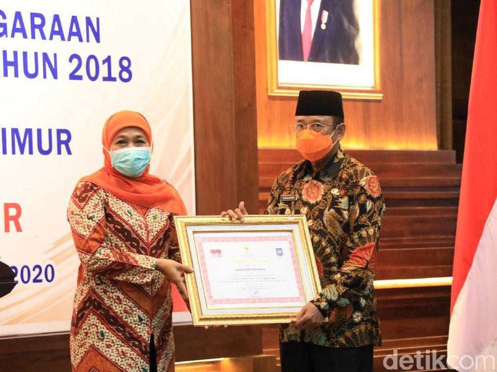 Kabupaten Ponorogo Raih Penghargaan Kinerja Sangat Tinggi