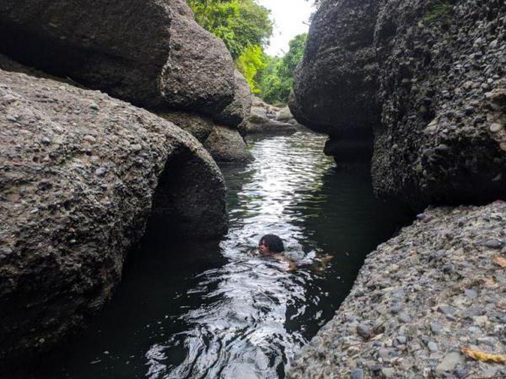 Ada Sungai Perawan Nan Alami di Enrekang, Sulsel