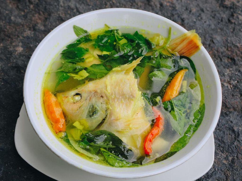 Resep Sup Ikan Gurame Kuah Bening yang Segar