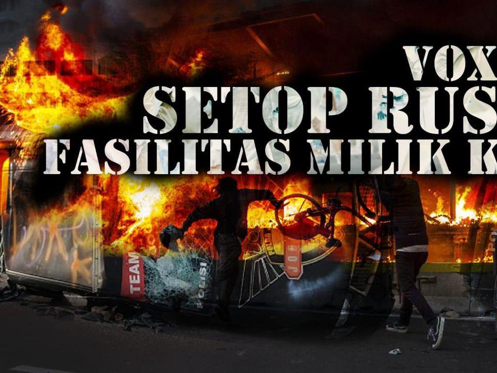 Demo Ya Demo Aja, Nggak Usah Pake Ngerusak Lah!