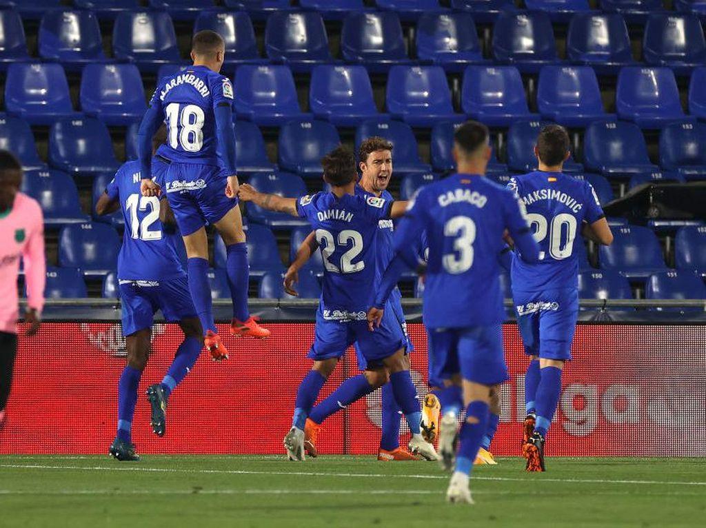 Kick and Rush Agresif Getafe Hancurkan Barcelona