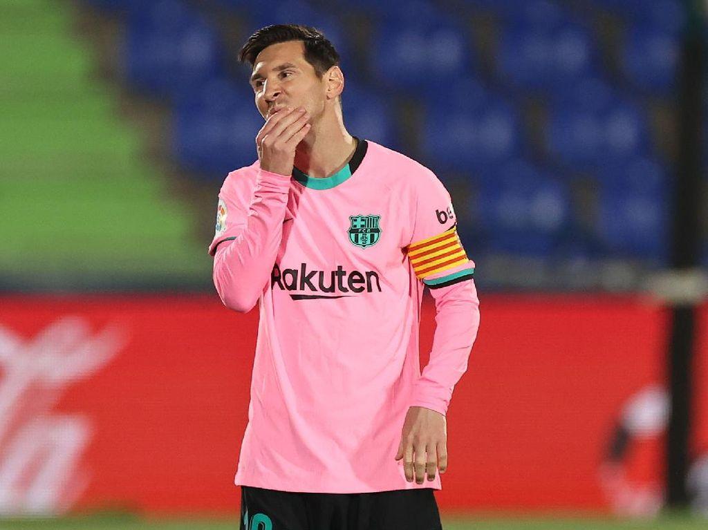 Video Laga Getafe Vs Barcelona: Messi Cs Takluk 0-1