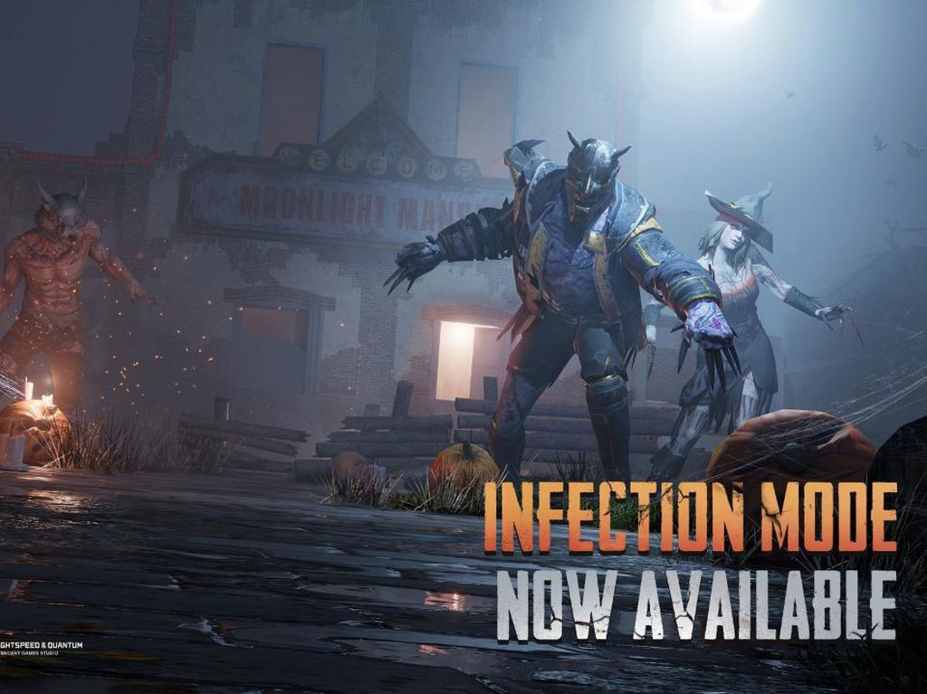 PUBG Mobile Rilis Infection Mode, Bisa Perang Lawan Zombie