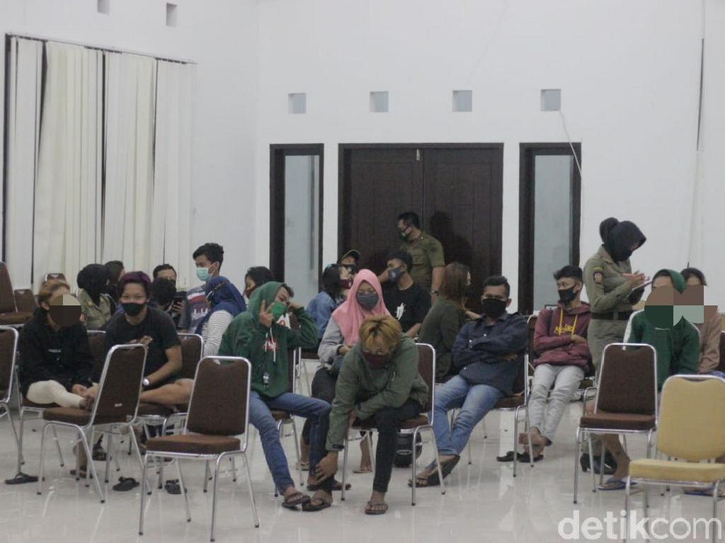 11 Pasangan Bukan Suami Istri Terciduk dalam Razia Kos Kota Blitar