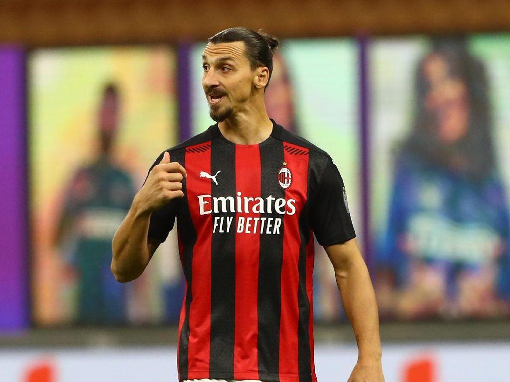 Milan Vs Roma: Duel Adu Tajam Ibrahimovic dengan Dzeko