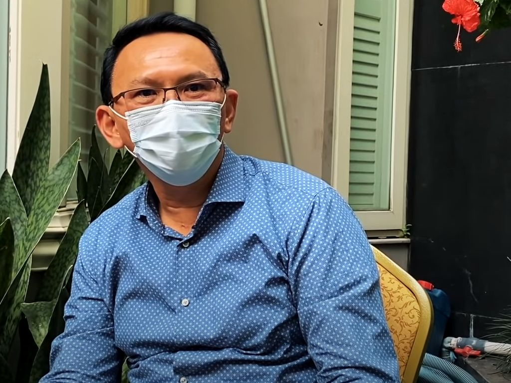 Sempat Jenguk, Ahok Berduka Mendalam Anton Medan Meninggal Dunia