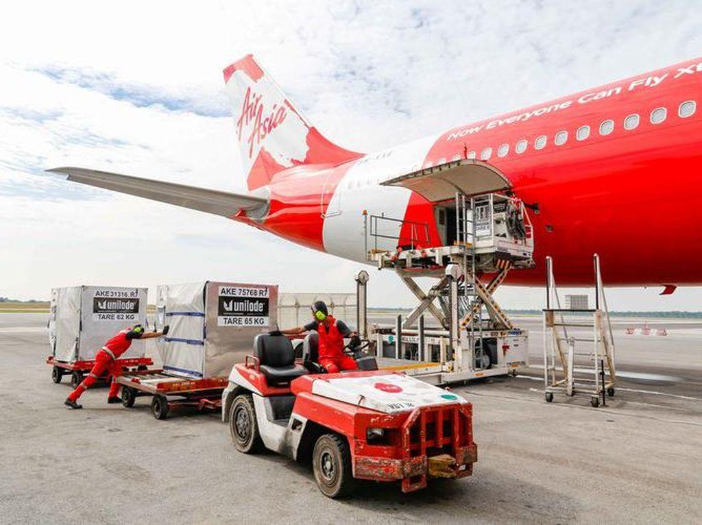 AirAsia Bantu Distribusi Vaksin COVID-19