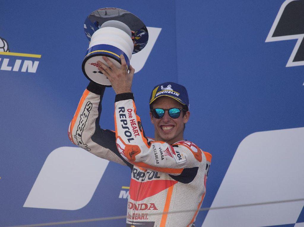 Klasemen MotoGP Usai Balapan Aragon: Pssttt...Alex Marquez Sudah di Atas Rossi