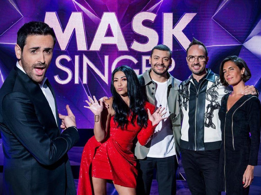 Keren! Anggun Kembali Jadi Juri The Masked Singer Prancis