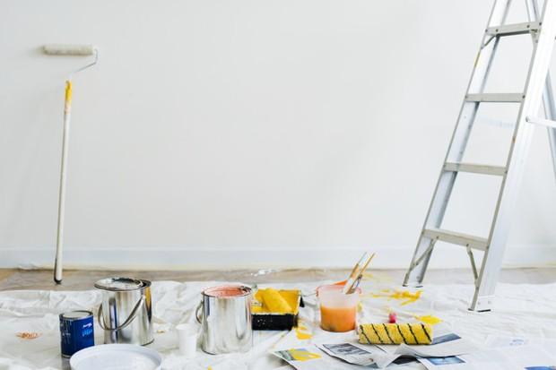 Mengurangi panas kamar tidur dengan cat dinding warna cerah/Freepik.com