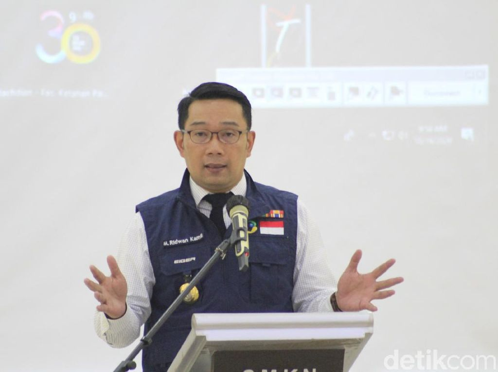 Ridwan Kamil Minta BPBD Siapkan Skenario Terburuk Hadapi La Nina